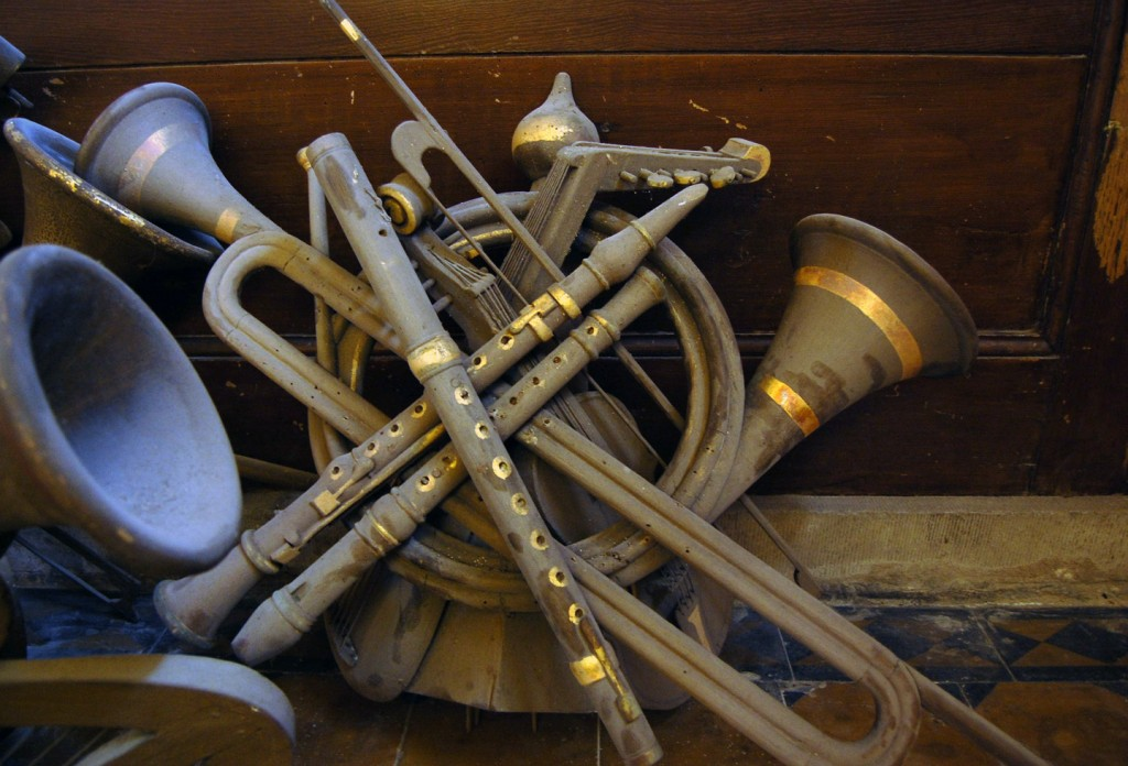 Orgelstukken Laurentiuskerk oorspronkelijke staat.