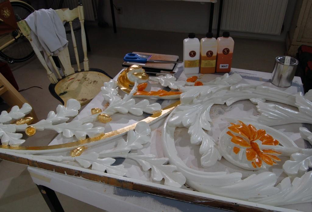 Orgelstuk in proces voor Laurentiuskerk.