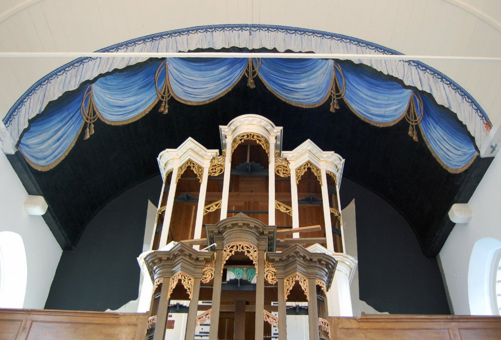 Laurentiuskerk orgel in proces.