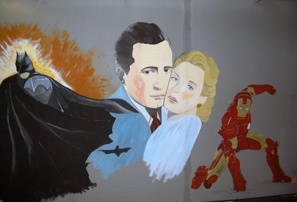 muurschildering Euroscoop